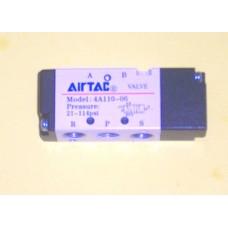 Airtac Air Pilot Valve 4A110-06T, 1/8 NPT, Air Pilot, Spring Return