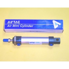 Airtac Cylinder MAL20X50CAT, Round Cylinder 20MM Bore X 50MM Stroke, Single Rod