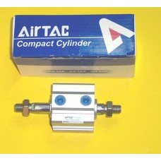 Airtac Cylinder SDAD32X20BT, Compact Cylinder 32MM Bore X 20MM Stroke, Double Rod