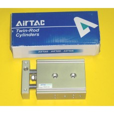 Airtac Cylinder TR20X10S, Compact Cylinder 20MM Bore X 10MM Stroke, Double Rod