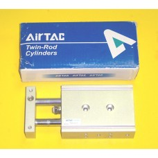 Airtac Cylinder TR20X20S, Compact Cylinder 20MM Bore X 20MM Stroke, Double Rod