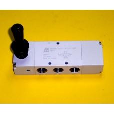 Mindman Lever Valve Model MVHB-300-4TVC-SP-NPT, 3/8 NPT