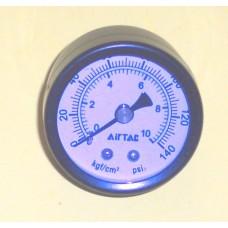 """Pressure Gage, 1/1/2"""" (40mm), 1/8 NPT Back Mount"""