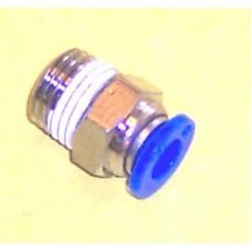 Fastek USA Male Connector, JPC3/8-N02, 1/4 NPT Thread to 3/8 tube