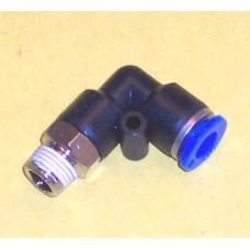 Fastek USA Male Elbow, JPL1/4-N02, 1/4 NPT Thread to 1/4 tube