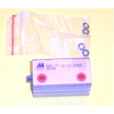 Mindman Cylinder MCJT-12-12-20M, Compact Cylinder 12MM Bore X 20MM Stroke