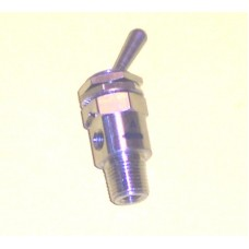Mindman Toggle Valve Model MVHA-3V, 1/8 NPT, M5 Outlet