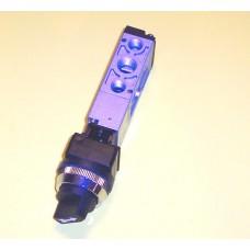 Mindman Turn Knob Valve Model MVMB-220-4TB-30, 1/4 NPT