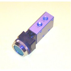 Mindman Push Button Valve Model MVMC-210-6A-3PP-30, 1/8 NPT