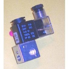 Fastek USA Solenoid Valve N3V1-06, 1/8 NPT, Single Solenoid, specify voltage, replaces 3V1-06