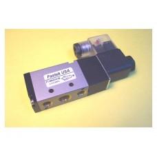 Fastek USA Solenoid Valve N4V-310-08, 1/4 NPT, Single Solenoid, specify voltage, 4V310-08