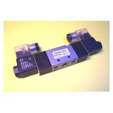 Fastek USA Solenoid Valve N4V-220-08, 1/4 NPT, Double Solenoid, specify voltage, replaces 4V220-08