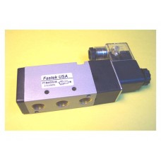 Fastek USA Solenoid Valve N4V-310-10, 3/8 NPT, Single Solenoid, specify voltage, replaces 4V310-10