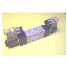 Fastek USA Solenoid Valve N4V-320-08, 1/4 NPT, Double Solenoid, specify voltage, replaces 4V320-08