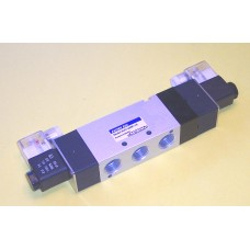 Fastek USA Solenoid Valve N4V-430C-15, 1/2 NPT, Double Solenoid, 3 Pos, Blocked,  specify voltage, 4V430C-15